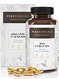 Bio Curcuma Kapseln hochdosiert laborgeprüft – Premium Kurkuma Gewürz Extrakt, Curcumin + Piperin/schwarzer Pfeffer | 4000mg Tagesdosis | Vegan ohne Magnesiumstearat, hergestellt in Deutschland