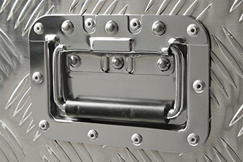 Aluminium Werkzeug Metallbox Alubox Alukiste Werkzeugkiste Werkzeugkasten Metallkiste Box Blechkiste ca.180 L Truckbox - 4