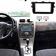 FairOnly Convenient Life 2DIN Car Refitting Radio Stereo DVD Frame Fascia for Toy-ota Corolla(08~10) Dash Pane