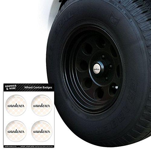 WANDERER Tire Rad Center Gap resin-topped Abzeichen Aufkleber