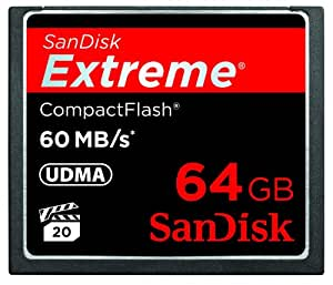 SanDisk Extreme Compact Flash 64GB Speicherkarte (60MB/s)