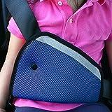 Everpert Car Safe Fit cintura regolatore auto dispositivo di regolazione della cintura di sicurezza per bambini Blue