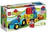 Lego Duplo Mon premier tracteur–Jeux de construction (Multicolore, 1,5année (s), ...