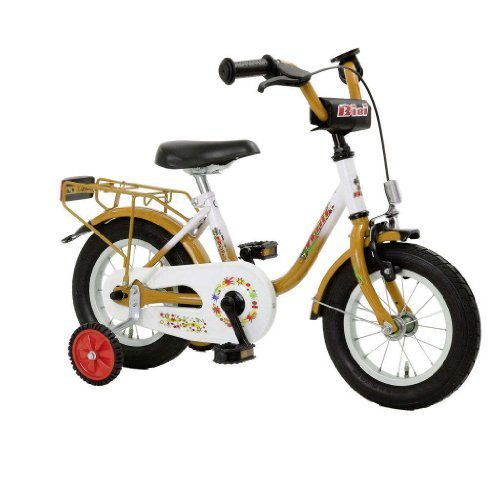 BiBi - Bicicletta da bambino BiBi 12,5, 12,5 pollici, U-Type