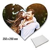 Fotopuzzle selbst gestalten * A3 A4 Herz * eigenes Foto personalisiertes Design, Puzzle:Herz Groß + weiße Box