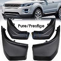 XUKEY - Juego de 4 Protectores de Salpicaduras para Range Rover Evoque Pure Prestige 2012 –