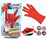 #8: Ultimate Spiderman Gloves With Disc Launcher For Real Action……