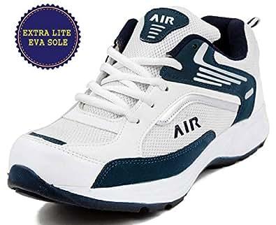 Ethics Men's White Running Shoes - 6