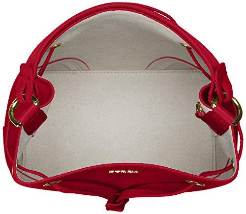 Furla Stacy S Drawstring, sac bandoulière Rot (Ruby)