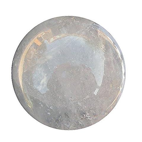 Roche à quartz Boule de cristal débutants Divinatoire Fortune Globe Sphère 69mm 450g CB1