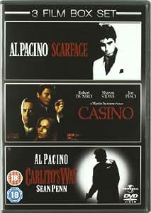Scarface/Casino/Carlito's Way [DVD]