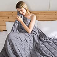 jaymag Coperta appesantita per Adulti/Adolescenti 180x200cm 15kg Coperte calmanti sensoriali Anti-ansia per Av
