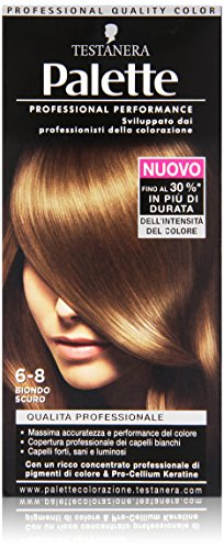 Testanera - Palette, Crema Colorante, 6-8 Biondo Scuro