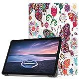 Igemy Leder Flip Stand Cover für Samsung Galaxy Tab S4 10,5 Zoll SM-T830 T835 (10.5'', C)