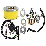 Ouyfilters sostituire carburatore con bobina di accensione e filtro dell' aria per Honda GX160GX2005.5hp 6HP motore generatore tosaerba a motore
