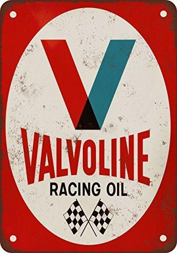 1971Valvoline Racing Öl Vintage Look Reproduktion Metall blechschild 20,3x 30,5cm (Vintage öl-zeichen)