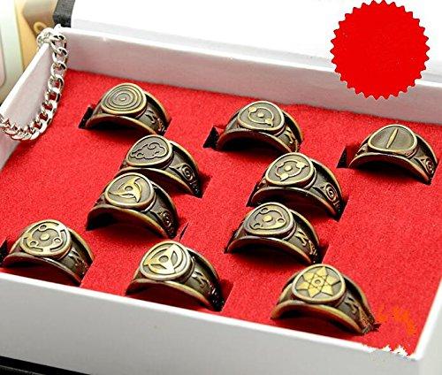 Naruto Shippuden Akatsuki Mitglieder 10 Ring