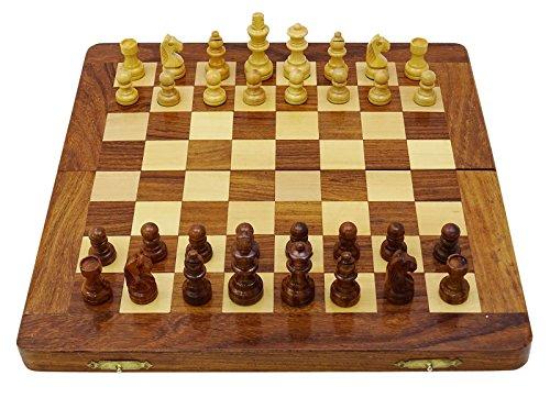 Chessmate Staunton Schachfiguren Handgearbeitete 32 Schachfiguren Spiel Schachbrett Königshöhe 43 Mm Geschenk Für Vater