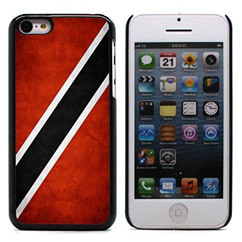Graphic4You Vintage Uralt Flagge Von Bahamas Design Harte Hülle Case Tasche Schutzhülle für Apple iPhone 5C Trinidad