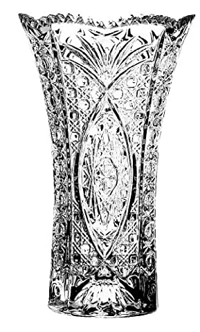 Cristal d'Arques Chesnay Blumenvase aus Kristallglas/ Kristallvase, 17cm (Kristallglas Bud Vase)