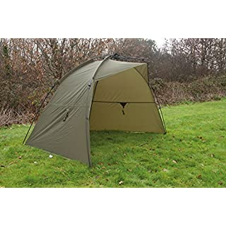 TF Gear Ex Demo Force 8 Rapid All Weather Compact Carp Fishing Day Shelter