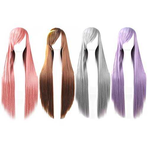 80-CM-Haute-Qualit-Perruque-Pour-FemmeVococal-32-Pouces-Longueur-Lode-Cosplay-Cheveux-Long-Droit-Extensions-Perruque-pour-Mascarade-Party-Halloween-Costume-de-Nol