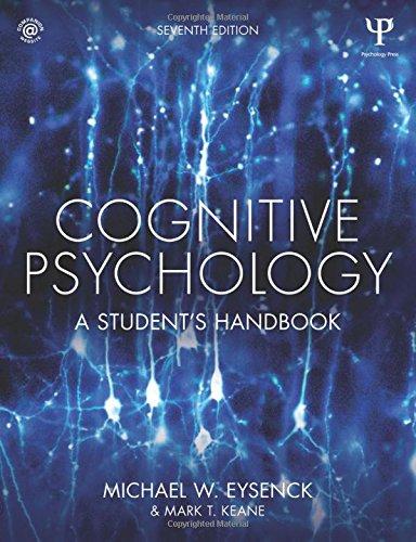 Cognitive Psychology: A Student's Handbook: Volume 1 por Michael W. Eysenck