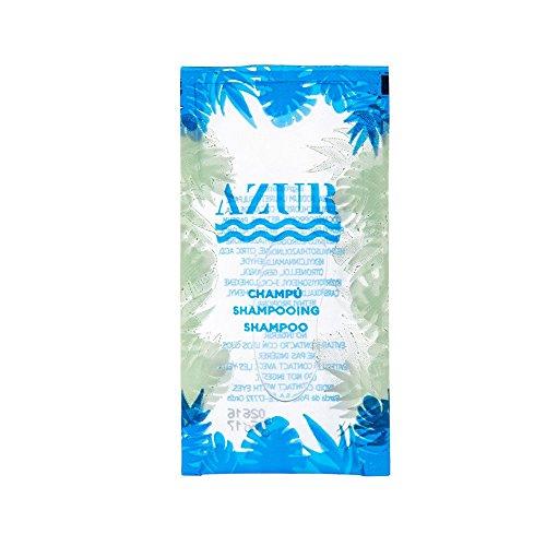 García Pou 219.59Tüten transparent Shampoo azur, 10ml, 10x 5cm, 500Stück, transparent