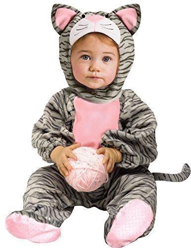 Kleinkind Kostüme Cat (Baby Kleinkind Tier Overall Halloween Büchertag Verkleidung Kostüm Kleidung 6 monate - 2 jahre - Cat, 6-12)