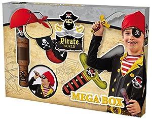 Clowny - Pirate World, megacaja de Pirata, Multicolor (SES 09862)