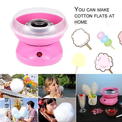 Leoboone Kinder Haushalt Mini Electric Cotton Candy-Hersteller-Maschine DIY Zuckermaschine Kinder Geburtstags-Geschenke EU-Stecker