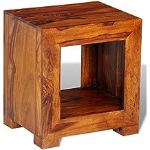 table de chevet palissandre. Black Bedroom Furniture Sets. Home Design Ideas