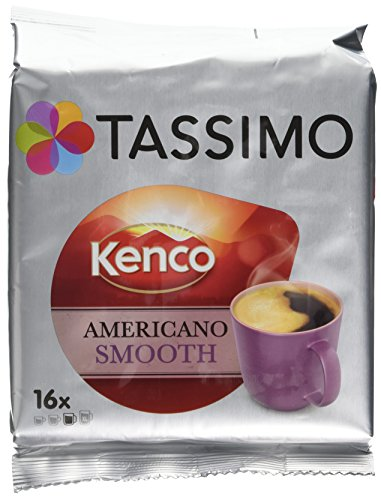Product Image of TASSIMO Americano Smooth (Pack of 5, Total of 80 Capsules)