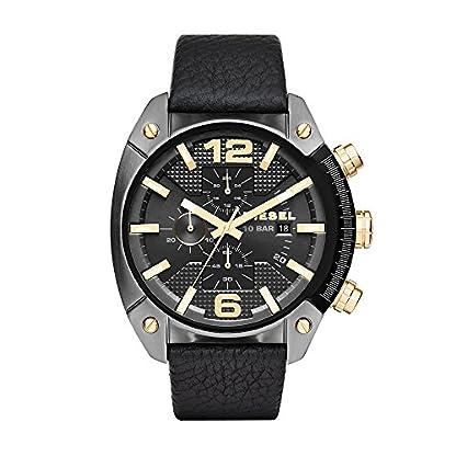 Diesel Overflow Analog Black Dial Men's Watch – DZ4375
