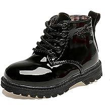 Paragon Niña Niños Botas de Agua Botas de Nieve Zapatillas de Lluvia Martin Botas Invierno Impermeable