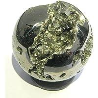 Leistungsstark 184Gramm Golden Pyrit 44mm Kugel crystal Healing metaphysisch Edelstein Reiki Feng Shui Geschenk... preisvergleich bei billige-tabletten.eu