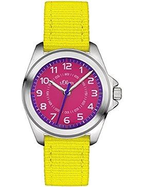 s.Oliver Unisex-Armbanduhr Analog Quarz Textil SO-3228-LQ