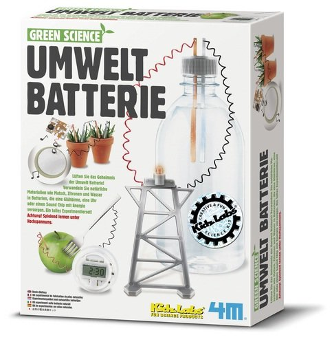 Green Science Umweltbatterie enviro battery