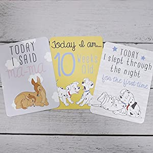Disney Magical Beginnings Baby 30 Milestone Cards DI330 from Widdop