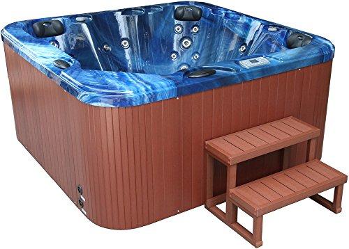 spa-jacuzzi-de-exterior-spatec-700-eco-para-7-personas-con-escalera-y-cubierta-azul-marron