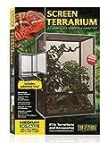 Exo Terra PT2678 Aluminium Gaze Terrarium, schwarz