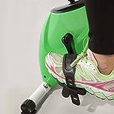 Newpower faltbares kompaktes magnetisches Fahrrad mit Anti-Rutsch-Pedalen, 8 Widerstandsstufen und LCD-Mikrocomputer mit Scan-, Zeit-, Geschwindigkeits-, Distanz- und Kalorienfunktionen - 9