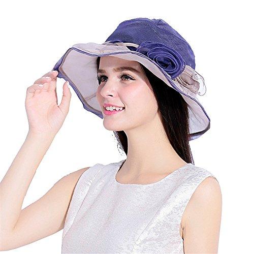 Ying xinguang Damenhut Frühling und Sommer Mulberry Silk -