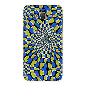Enticing Classic Illusion Back Case Cover for Galaxy J7