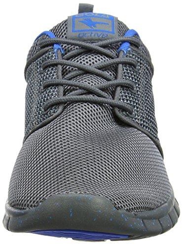Gola Angelo, Scarpe Sportive Indoor Uomo Grigio (Grey/blue)