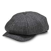 AYAMAYA Newsboy Cap Gatsby Baker Boy Hat Flat Caps Tweed Adjustable Shelby Caps for Men Women