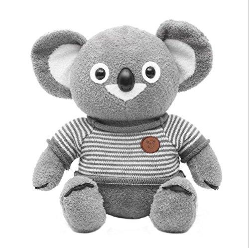 Speedmar Lindo y Suave Tall 25cm Bufanda Suave Koala Felpa Bufanda Koala muñeco de Peluche Felpa Bufanda Suave Koala Regalo para niños Chidlren (Gris)