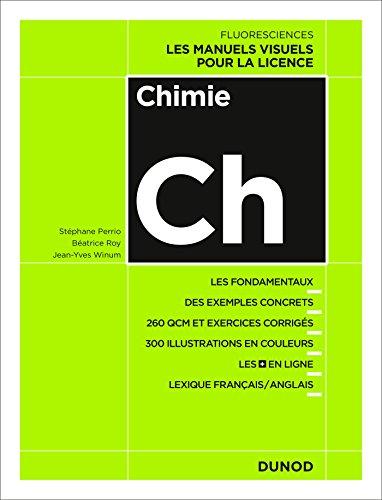 Chimie - Cours, exercices et méthodes par Stéphane Perrio