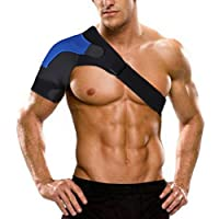 ZSZBACE Verstellbar Schulter Unterstützung aus Neopren Schulter Bandage Gurt Schulterschutz für Sportverletzungen... preisvergleich bei billige-tabletten.eu