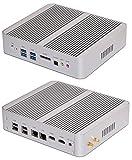 Zenion i5-v5 9060144 Mini-Barebone PC (Intel Core i5-5200U, 12 V Netzteil, lüfterlos, Sockel 1168,...